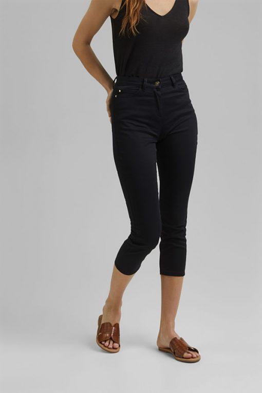 Esprit Cropped Pants Black