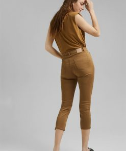 Esprit Cropped Pants Bark