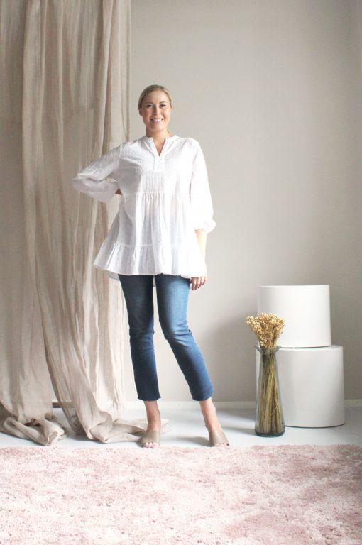 STI Katerina Blouse White