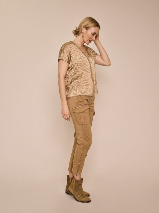 Mos Mosh Camille Cargo Pant New Sand