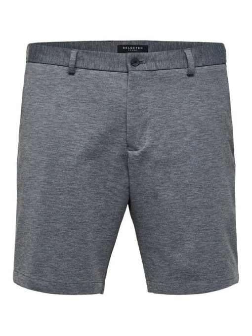 Selected Homme Aiden Shorts Medium Grey Melange