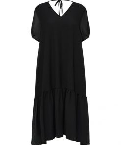 Selected Femme Sina Midi Dress Black