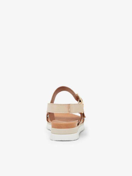 Bianco Biadebra Bucket Sandals Natural