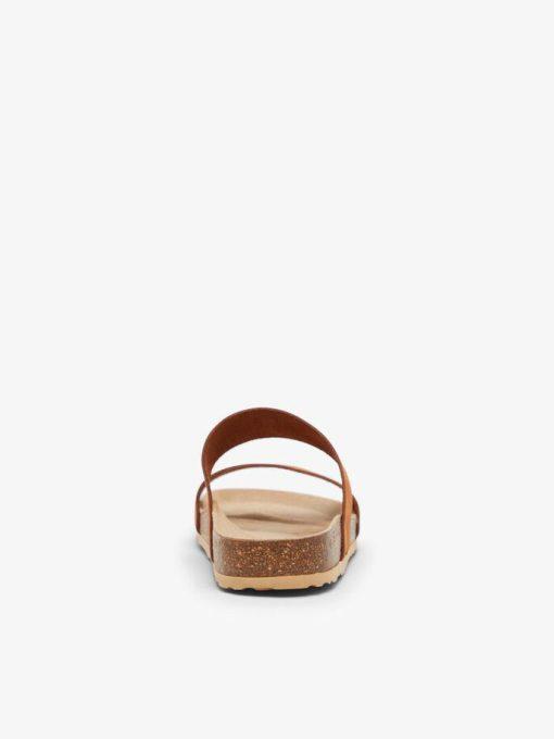 Bianco Biabetricia Twin Strap Sandal Cognac