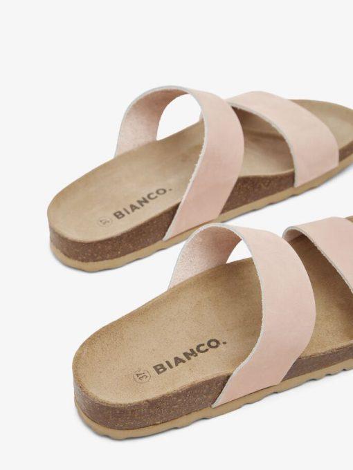 Bianco Biabetricia Twin Strap Sandal Light Pink