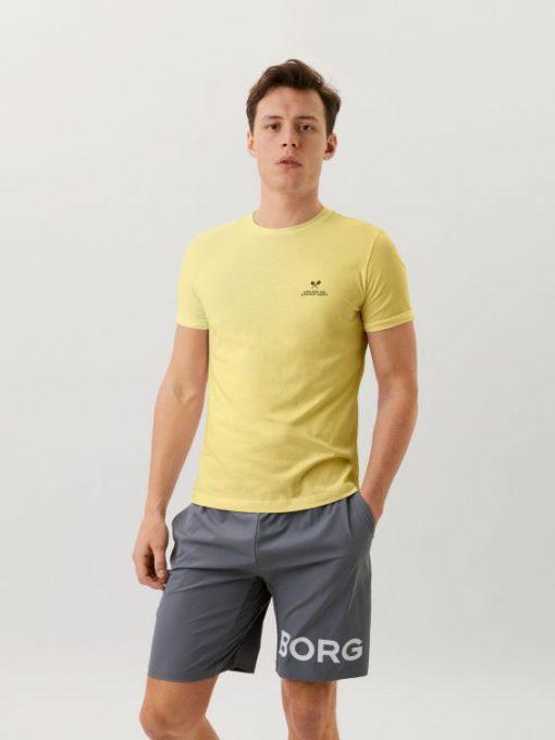 Björn Borg Sport Tee Yellow Pear