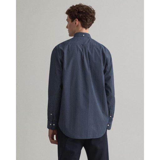 Gant Micro Dot Shirt Classic Blue