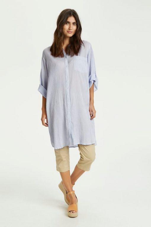 Part Two Isidora Dress Brunnera Blue Stripe