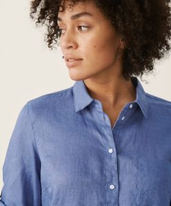 Part Two Cindies Shirt Colony Blue