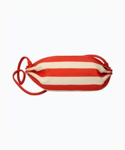Marimekko Karla Stripe Bag Red/White