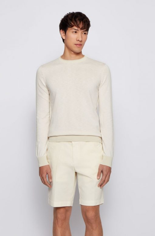 Hugo Boss Komibo sweater Light Beige