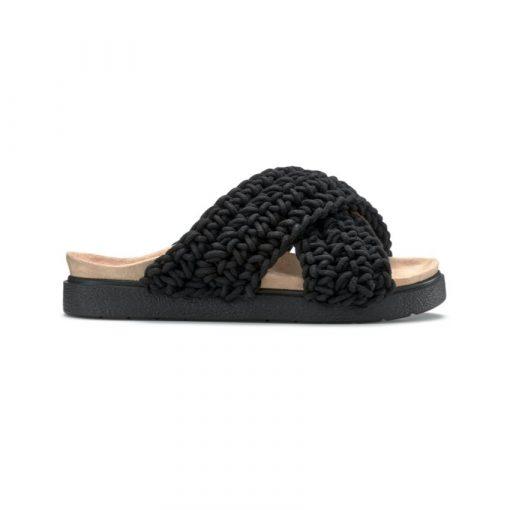 Inuikii Woven Slippers Black