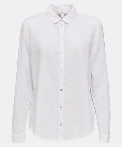 Esprit Cotton Linen Shirt White