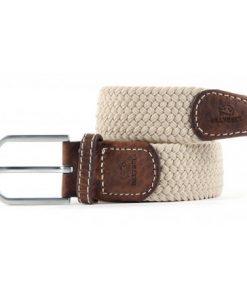 Billybelt Elastic Woven Belt Sandy Beige