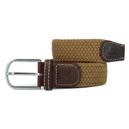 Billybelt Elastic Woven Belt Moka
