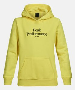 Peak Performance Original Hoodie Junior Citrine