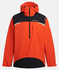 Peak Performance Stowaway Anorak Men Super Nova