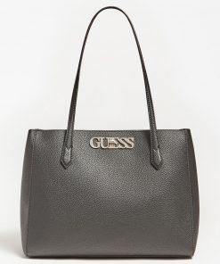 Guess Uptown Chick Shoulder Bag Black
