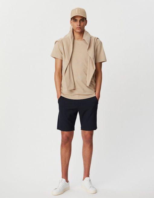 Les Deux Pique T-shirt Dark Sand