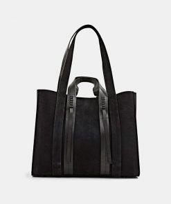 Esprit Leather Bag Black