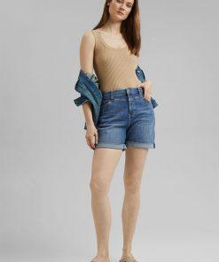 Esprit Denim Shorts Medium Washed Blue