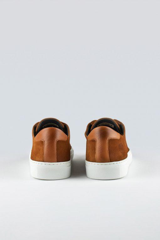 Sneaky Steve Lescape Suede Sneakers Cognac