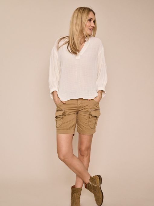 Mos Mosh Camille Cargo Shorts New Sand