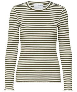 Selected Femme Fanna Long Sleeve T-shirt Kalamata