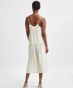 Selected Femme Tessi Relaxed Pants Sandshell