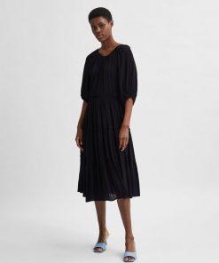 Selected Femme Minora Vienna Dress Black