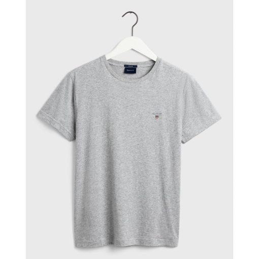 Gant The Orginal T-Shirt Light Grey Melange