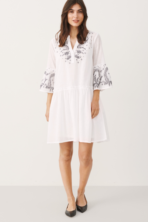 Part Two Sophia Dress White