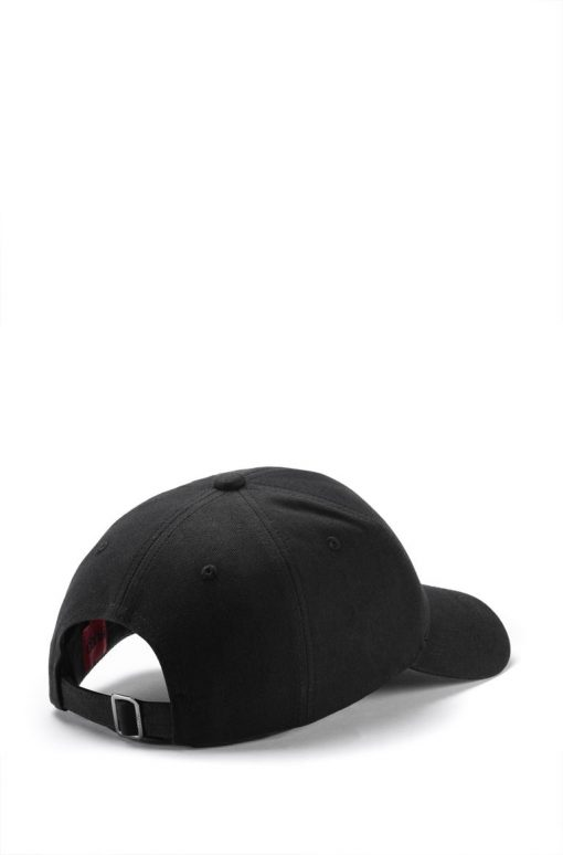 Hugo Boss Cropped Logo Cap Black