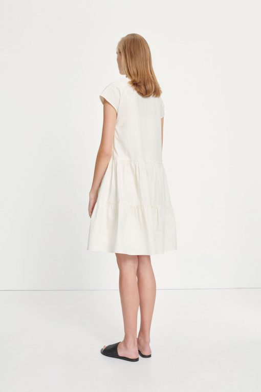 Samsoe & Samsoe Margo Shirt Dress Antique White