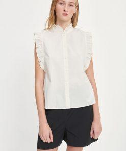 Samsoe & Samsoe Marthy Shirt Top Antique White