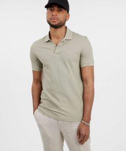 J.Lindeberg Troy Cotton Polo Shirt Sage