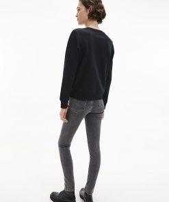 Calvin Klein Institutional Logo Sweatshirt Black