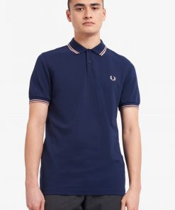 Fred Perry M3600 Pique Dark Carbon