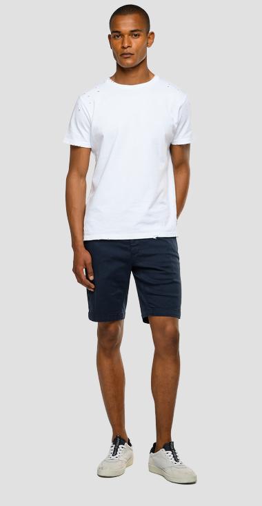 Replay Benni Chino Shorts Blue