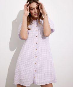Envii Enguldberg Dress Violette Check
