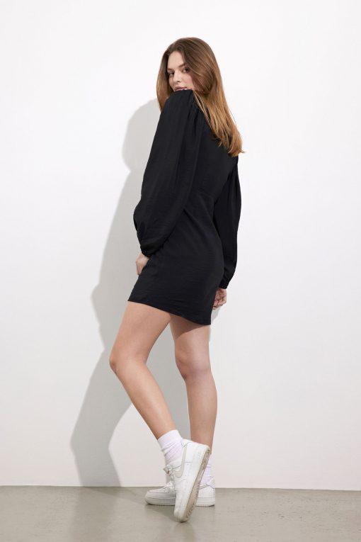 Envii Enculhane Ls Dress Black
