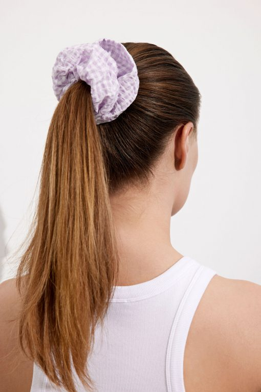 Envii Endaphne Scrunchie Violette Check