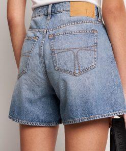 Tiger Jeans Minaa Denim Shorts Light Blue