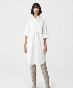 Gestuz Haliogz Shirt Dress White