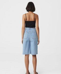 Gestuz Elmagz Wide Shorts Light Blue