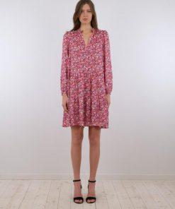 Neo Noir Federica Flower Dress Pink