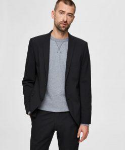 Selected Mylo Logan Blazer Black