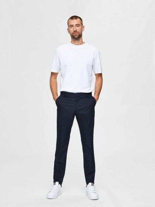 Selected Mylo Logan Trousers Navy Blazer