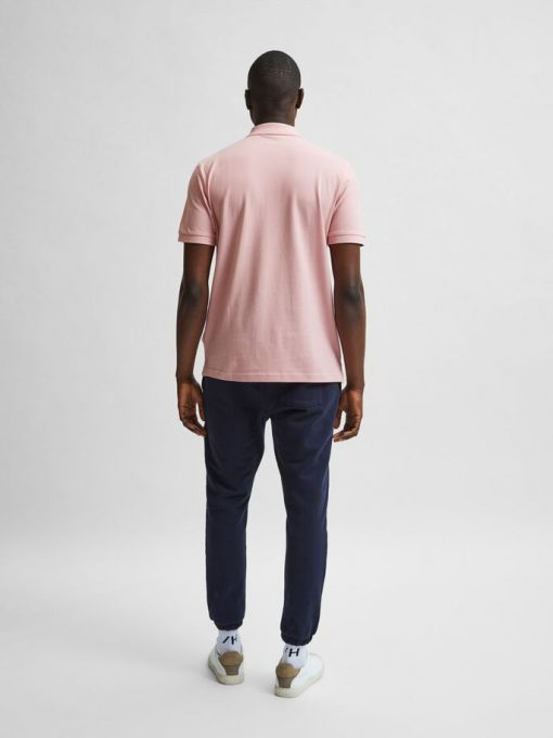 Selected Homme Neo Polo Shirt Mellow Rose