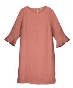 Balmuir Lilian Linen Dress Old Rose